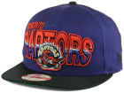 Toronto Raptors New Era NBA Hardwood Classics Split Line 9FIFTY Snapback Cap Adjustable Hats
