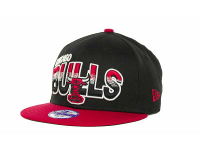 Chicago Bulls NBA Youth Hardwood Classics Split Line 9FIFTY Cap Hats