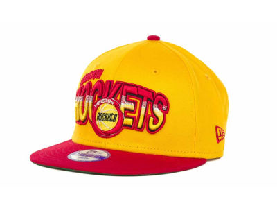 Houston Rockets NBA Youth Hardwood Classics Split Line 9FIFTY Cap Hats