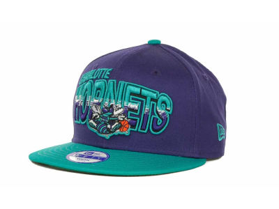 Charlotte Hornets NBA Youth Hardwood Classics Split Line 9FIFTY Cap Hats