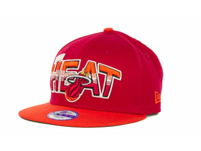 Miami Heat NBA Youth Hardwood Classics Split Line 9FIFTY Cap Hats
