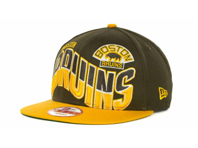 Boston Bruins NHL Ice Wave Snapback 9FIFTY Cap Hats