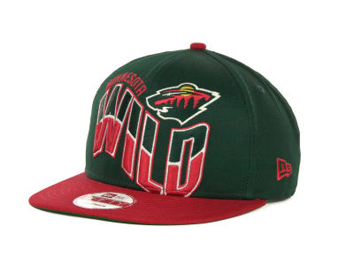 Minnesota Wild NHL Ice Wave Snapback 9FIFTY Cap Hats
