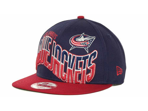 Columbus Blue Jackets New Era NHL Ice Wave Snapback 9FIFTY Cap Hats