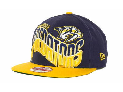 Nashville Predators NHL Ice Wave Snapback 9FIFTY Cap Hats
