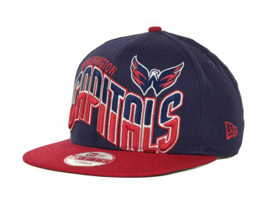 Washington Capitals NHL Ice Wave Snapback 9FIFTY Cap Hats