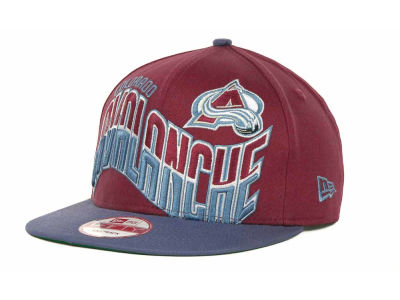 Colorado Avalanche NHL Ice Wave Snapback 9FIFTY Cap Hats