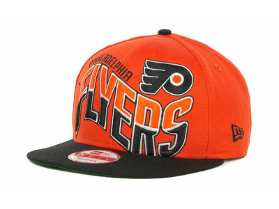 Philadelphia Flyers NHL Ice Wave Snapback 9FIFTY Cap Hats