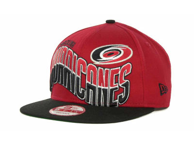 Carolina Hurricanes NHL Ice Wave Snapback 9FIFTY Cap Hats