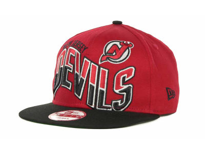 New Jersey Devils NHL Ice Wave Snapback 9FIFTY Cap Hats