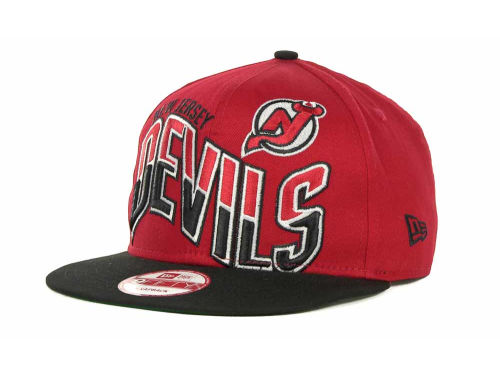 New Jersey Devils New Era NHL Ice Wave Snapback 9FIFTY Cap Hats