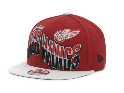 Detroit Red Wings NHL Ice Wave Snapback 9FIFTY Cap Hats