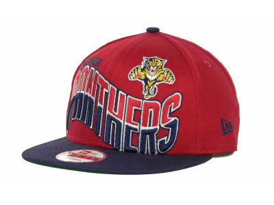 Florida Panthers NHL Ice Wave Snapback 9FIFTY Cap Hats