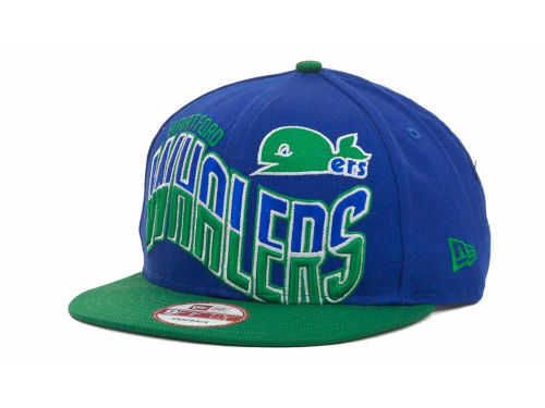 Hartford Whalers New Era NHL Ice Wave Snapback 9FIFTY Cap Hats