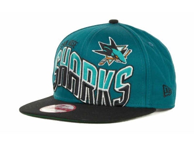 San Jose Sharks NHL Ice Wave Snapback 9FIFTY Cap Hats
