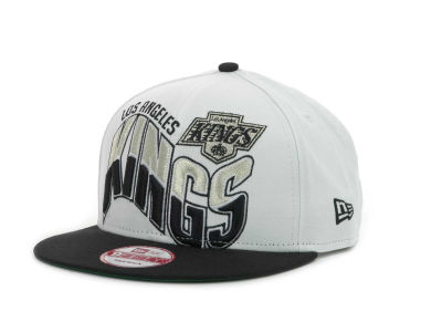 Los Angeles Kings NHL Ice Wave Snapback 9FIFTY Cap Hats