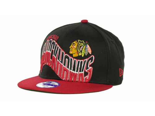 Chicago Blackhawks New Era NHL Youth Ice Wave Snapback 9FIFTY Cap Hats