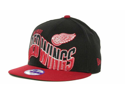 Detroit Red Wings NHL Youth Ice Wave Snapback 9FIFTY Cap Hats
