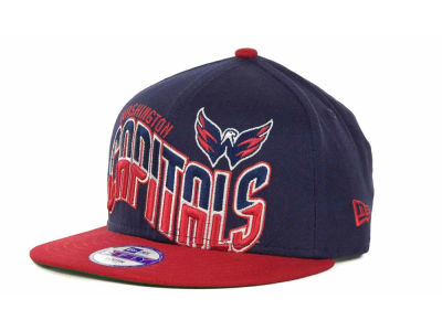 Washington Capitals NHL Youth Ice Wave Snapback 9FIFTY Cap Hats