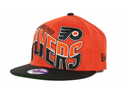 Philadelphia Flyers NHL Youth Ice Wave Snapback 9FIFTY Cap Hats