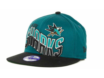 San Jose Sharks NHL Youth Ice Wave Snapback 9FIFTY Cap Hats