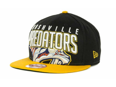 Nashville Predators NHL Major Snapback 9FIFTY Cap Hats