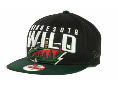 Minnesota Wild NHL Major Snapback 9FIFTY Cap Hats