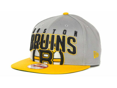 Boston Bruins NHL Major Snapback 9FIFTY Cap Hats