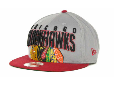 Chicago Blackhawks NHL Major Snapback 9FIFTY Cap Hats