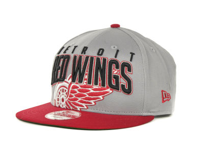 Detroit Red Wings NHL Major Snapback 9FIFTY Cap Hats
