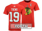 Chicago Blackhawks Jonathan Toews Reebok NHL Youth Player T-Shirt T-Shirts