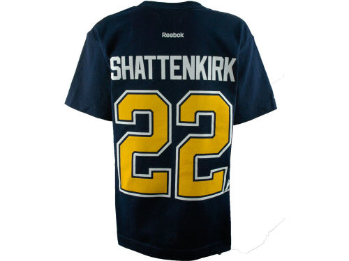 St. Louis Blues Kevin Shattenkirk Reebok NHL Youth Player T-Shirt