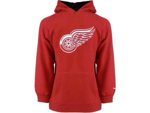 Detroit Red Wings Reebok NHL Youth Sportsman Pullover Fleece Hoodie