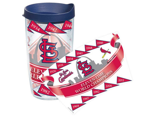 St. Louis Cardinals Tervis Tumbler 16oz Wrap Tumbler With Lid