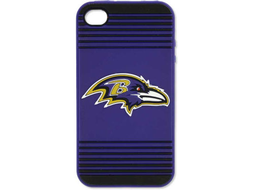 Baltimore Ravens Forever Collectibles IPhone 4 Case Silicone Logo