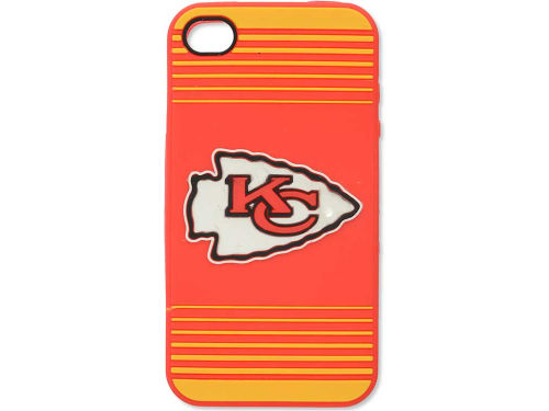 Kansas City Chiefs Forever Collectibles IPhone 4 Case Silicone Logo
