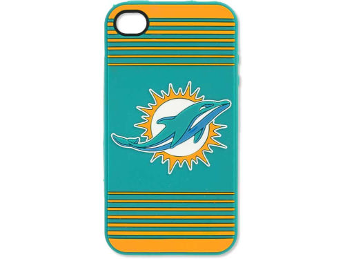 Miami Dolphins Forever Collectibles IPhone 4 Case Silicone Logo