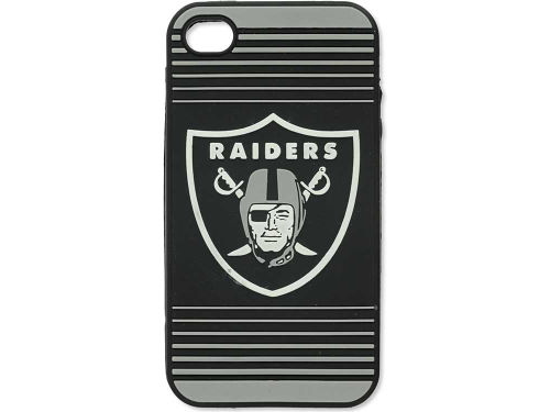 Oakland Raiders Forever Collectibles IPhone 4 Case Silicone Logo