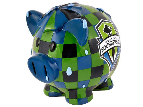 Seattle Sounders FC Forever Collectibles MLB Thematic Piggy Bank-Large