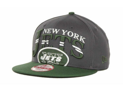 New Era NFL Charcoal Arch Snapback 9FIFTY Cap Hats
