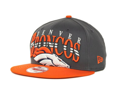 Denver Broncos NFL Charcoal Arch Snapback 9FIFTY Cap Hats