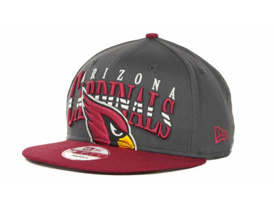 Arizona Cardinals NFL Charcoal Arch Snapback 9FIFTY Cap Hats