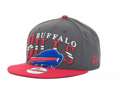 Buffalo Bills NFL Charcoal Arch Snapback 9FIFTY Cap Hats