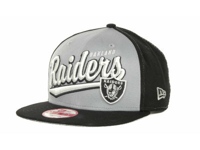 Oakland Raiders NFL ScriptTailz Snapback 9FIFTY Cap Hats