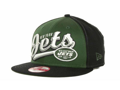 New York Jets NFL ScriptTailz Snapback 9FIFTY Cap Hats