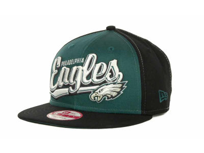 Philadelphia Eagles NFL ScriptTailz Snapback 9FIFTY Cap Hats