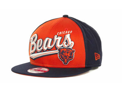 Chicago Bears NFL ScriptTailz Snapback 9FIFTY Cap Hats