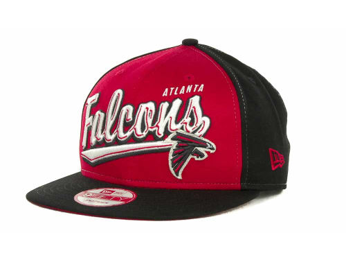 Atlanta Falcons New Era NFL ScriptTailz Snapback 9FIFTY Cap Hats