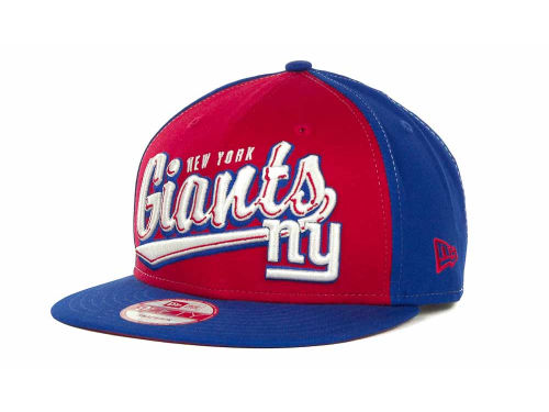 New York Giants New Era NFL ScriptTailz Snapback 9FIFTY Cap Hats