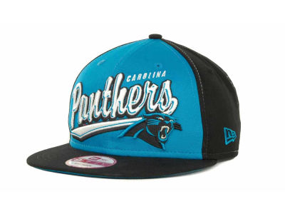 Carolina Panthers NFL ScriptTailz Snapback 9FIFTY Cap Hats